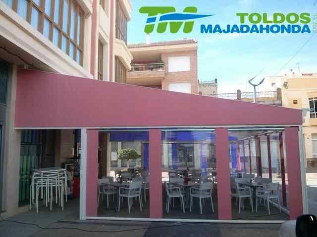 Venta e instalaci n de toldos verticales en majadahonda - Toldos en majadahonda ...